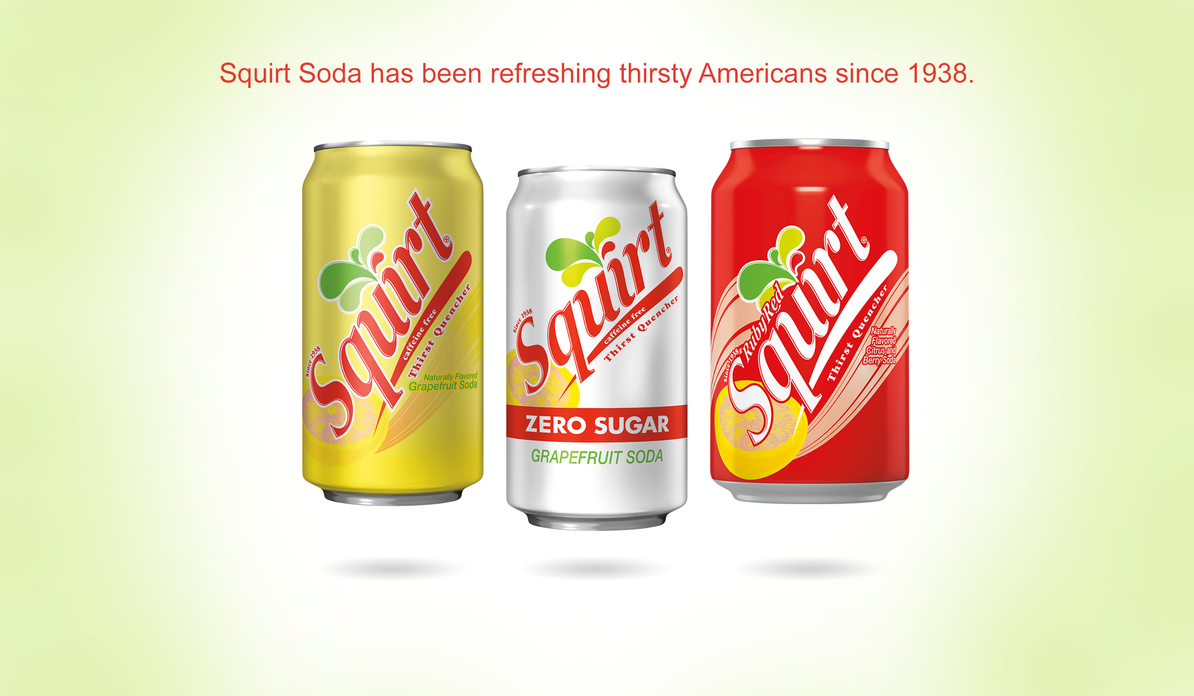 Squirt Soda has been refreshing thirsty Americans since 1938